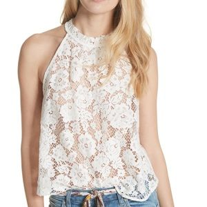 NWT Free People Lace Top Size Small